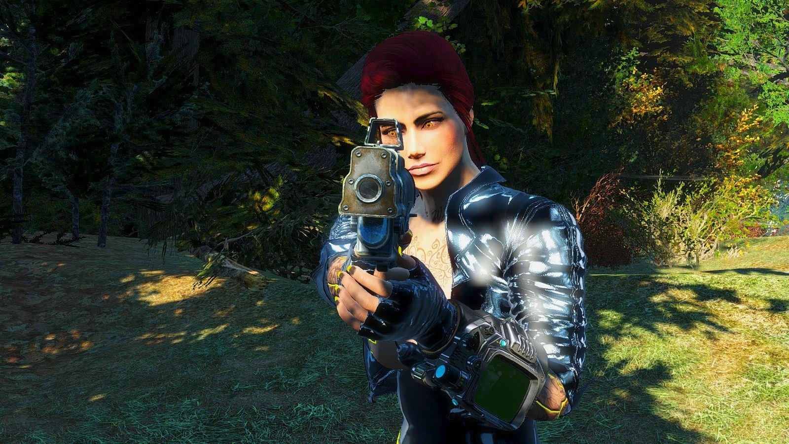 Алиска брутальна )) Fallout-4 (сборка 6.0)