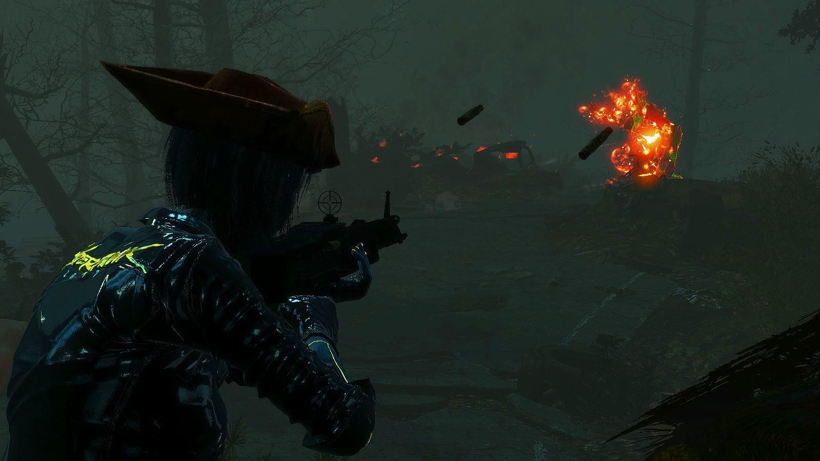 Вайлет жарит дичь! Туманник на завтрак )) Fallout-4
