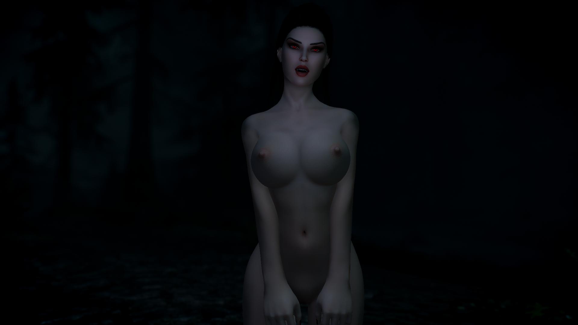 SkyrimSE 6.0 (Лето) - Темной ноченькой