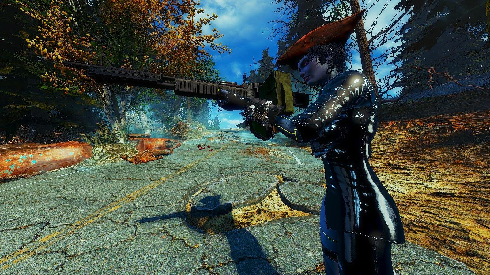 Вайлет на Фар Харборе.. Fallout-4