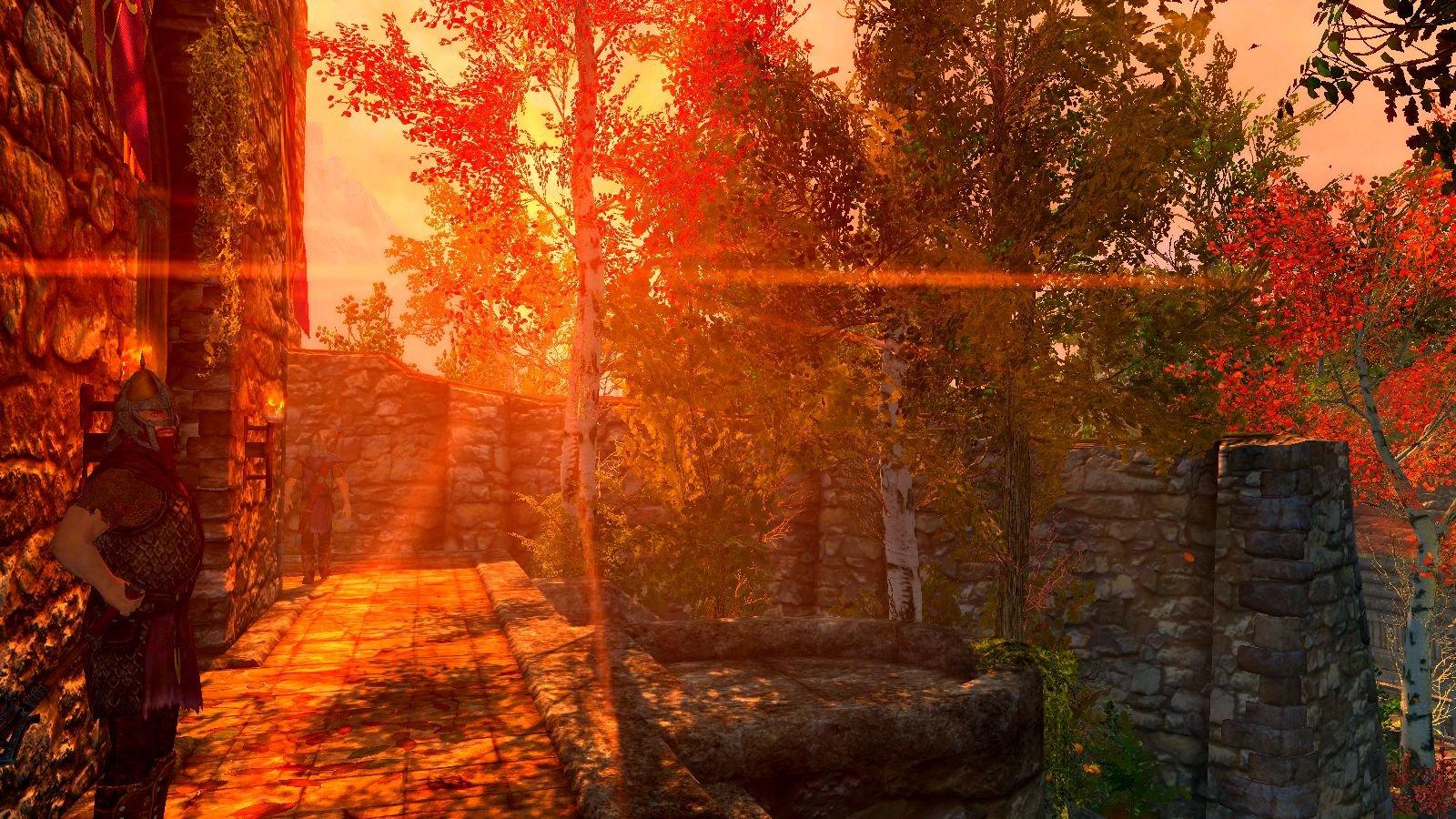 В Рифтене на закате.. SkyrimSE (сборка 6.0)