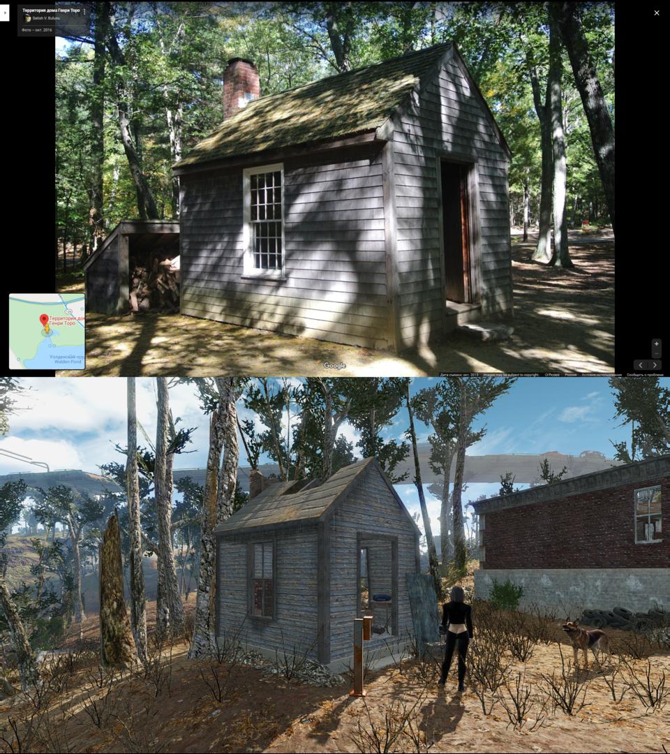 Игровые локации в реальном мире