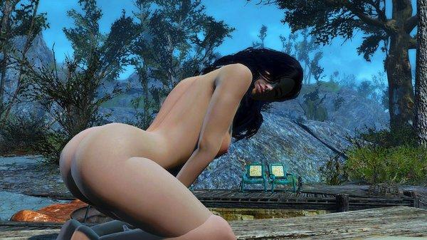 Алиса греет попу. )) Fallout-4 (сборка 6.0)