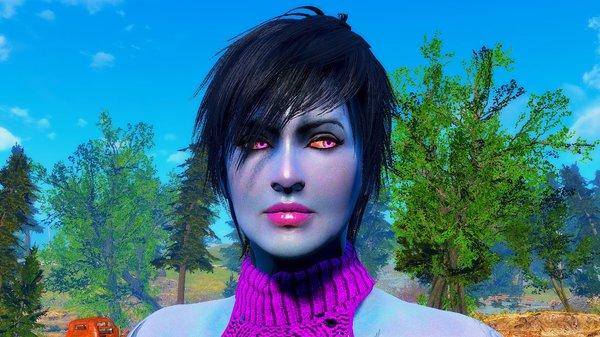 Вайлет - моя любимая красотка! Fallout4