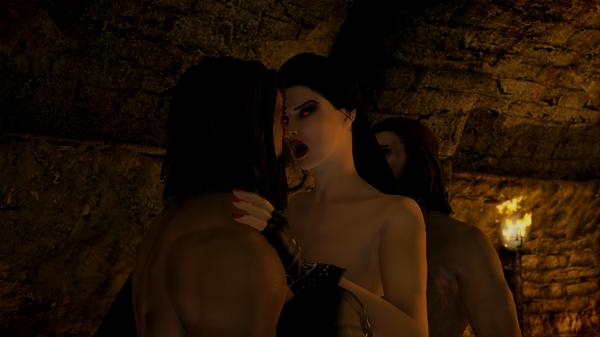 SkyrimSE 6.0 (Лето) - Жди беды от вампира