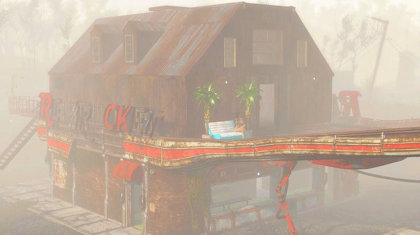 Красная Ракета - мои поселения в Fallout-4