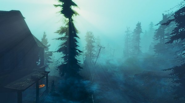 На Фар Харборе - пейзаж уныл! )) Fallout-4