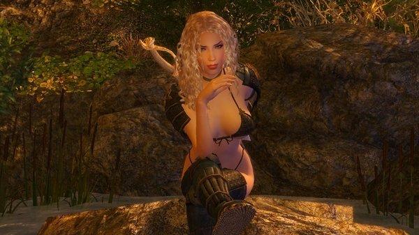 Алиса: я на камушке сижу.. ;) Enderal (сборка 3.0)