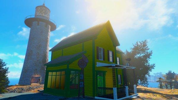 Новый дом - всегда лучше старого! ;) Fallout-4