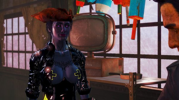 В баре на Фар Харбор.. Fallout-4
