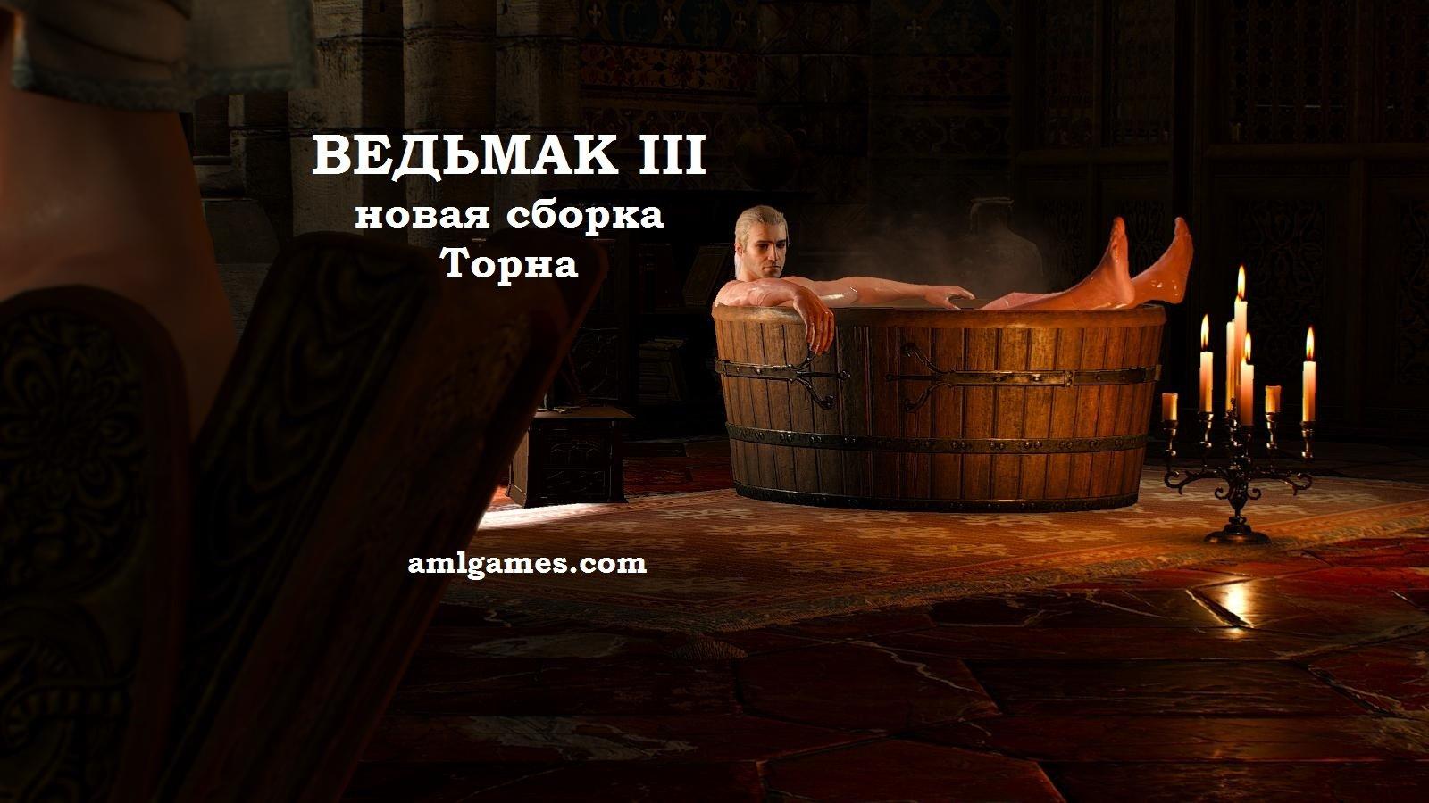 Обложка 1.1. ВЕДЬМАК III - Сборка Торна
