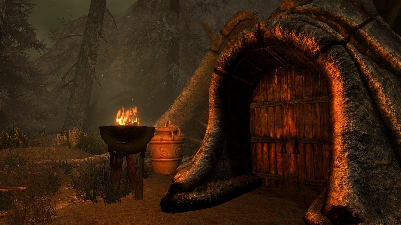 Ещё со времён Morrowind нравятся домики ))