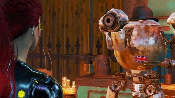 Барист в Добрососедстве.. Fallout-4 (сборка 6.0)