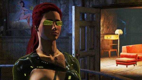 Алиса в гостиннице.. Fallout-4 (сборка 6.0)