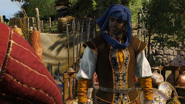 Торговец из Офира.. ВЕДЬМАК III (сборка Торна)