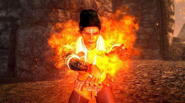 Огненное сердце Дорианы.. SkyrimSE (сборка 6.0)