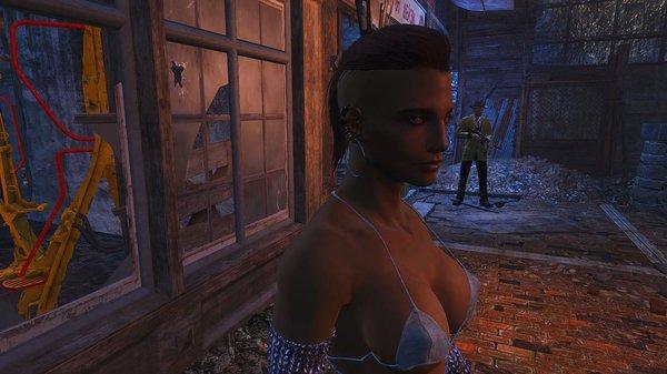 Работница соц-обслуживания. Fallout-4 (сборка 6.0)