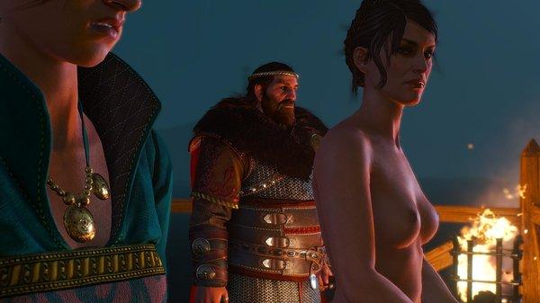 Вдова короля Скеллиге и Тан. WITCHER III