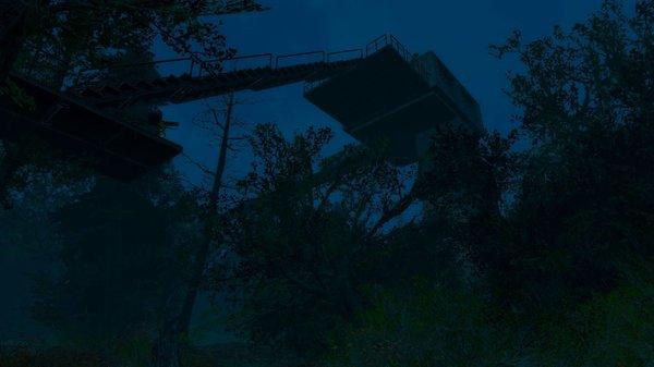 Новый дом - над деревьями! Fallout-4