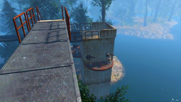 "Подход к ""дому над деревьями"" ;) Fallout-4"