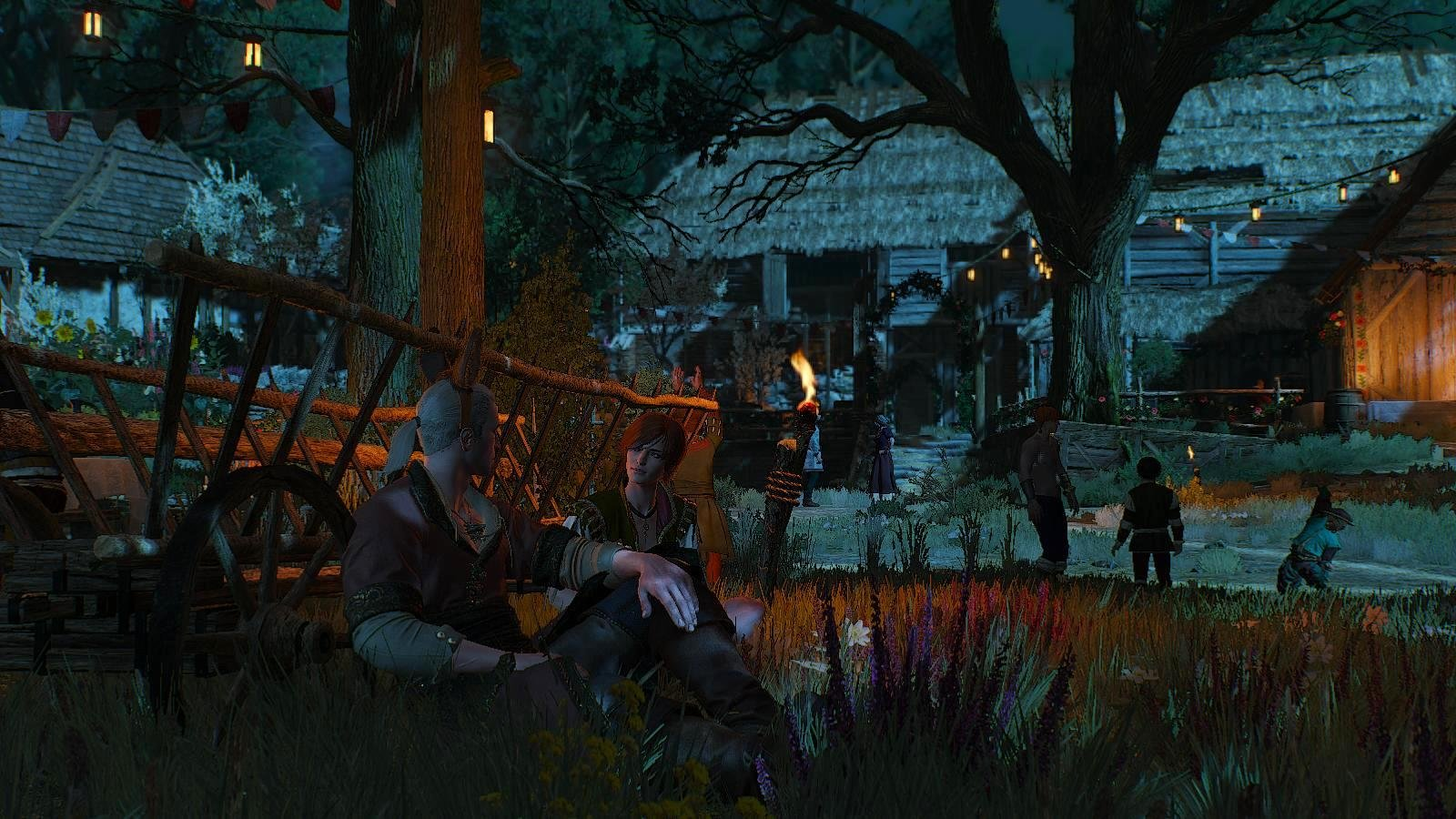 Вечером в деревне... ВЕДЬМАК III (сборка Торна)