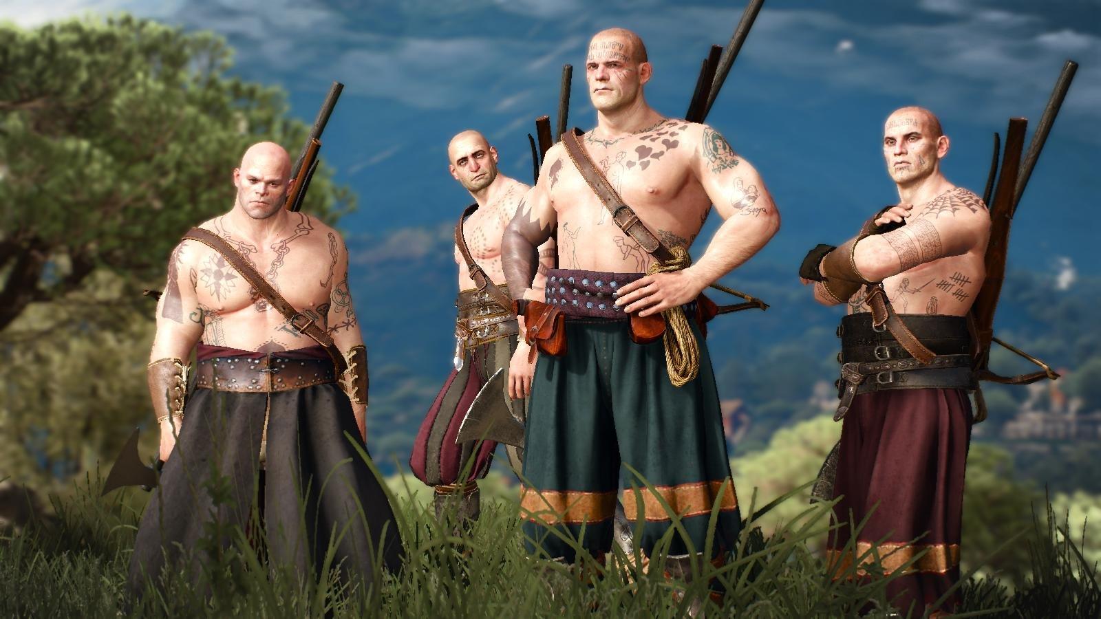 Вольные охотники.. ВЕДЬМАК III (сборка Торна)
