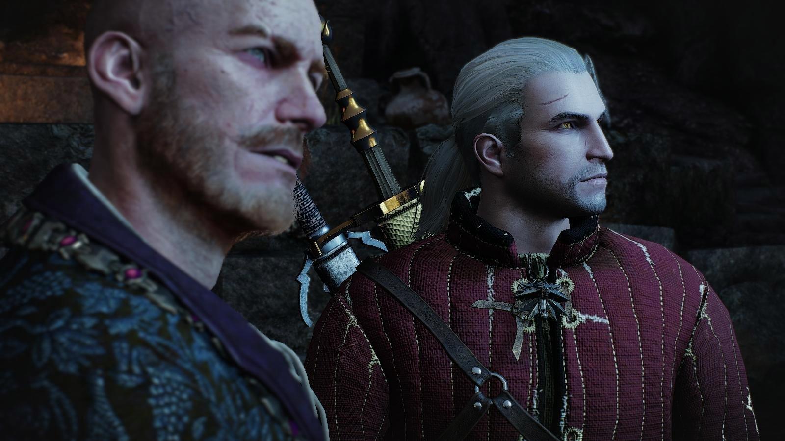 Геральт и Ольгерт ждут встречи.. (сборка Торна)