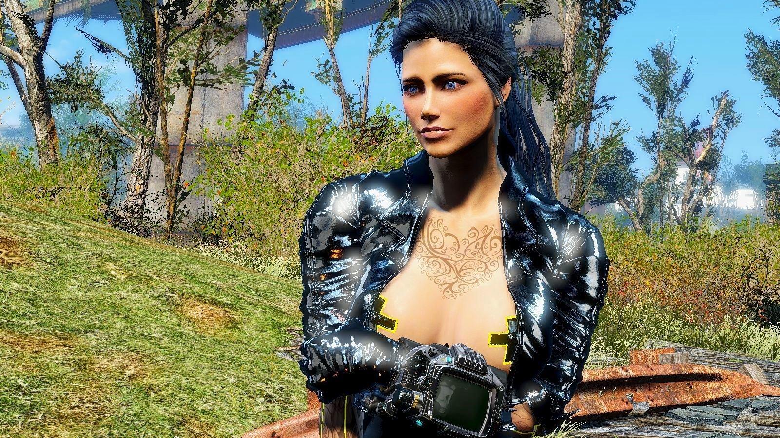 Моя Алиса в готовящеяся сборке 6.1 Fallout4