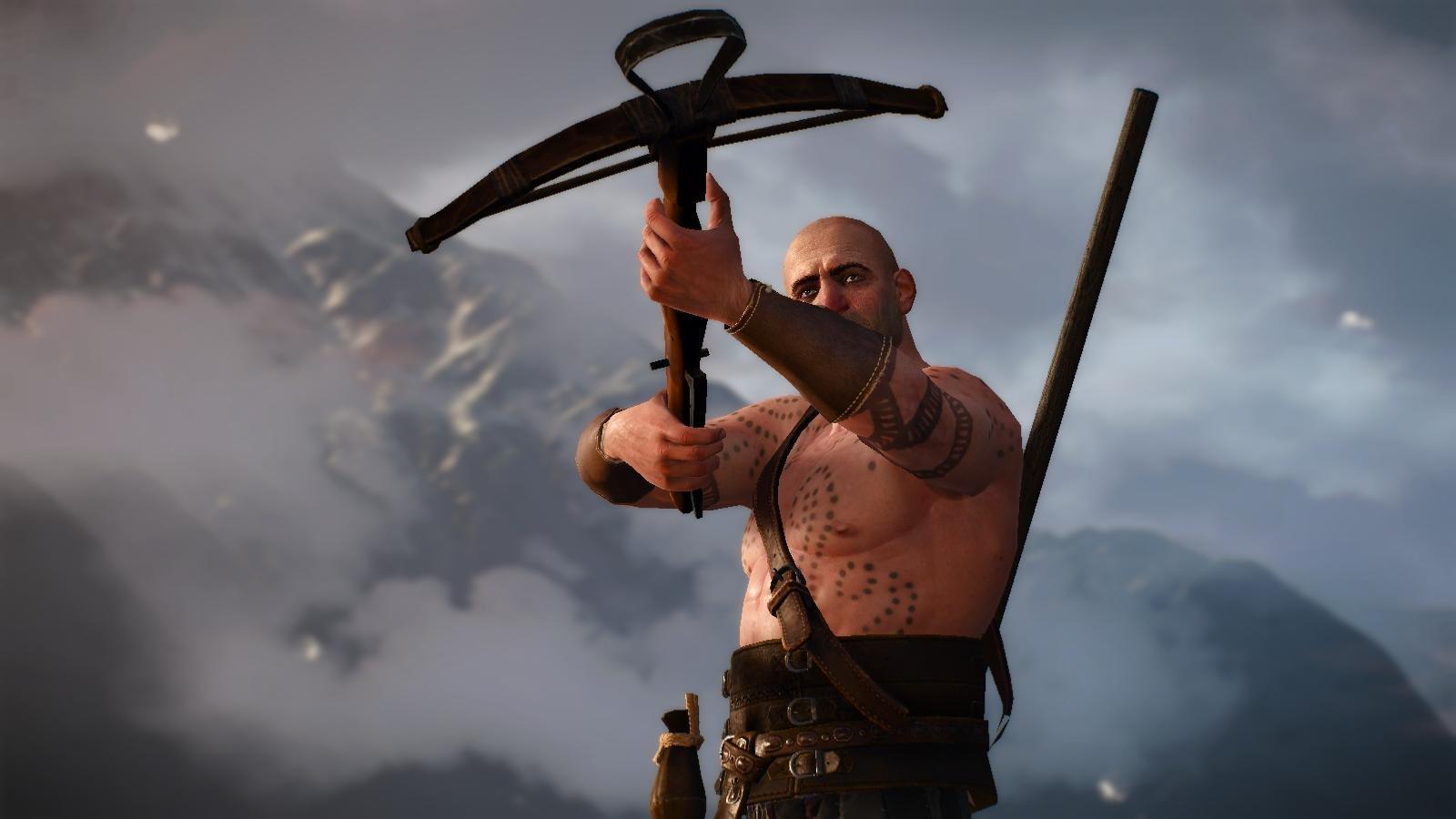 Охотник с арбалетом.. ВЕДЬМАК III (сборка Торна)