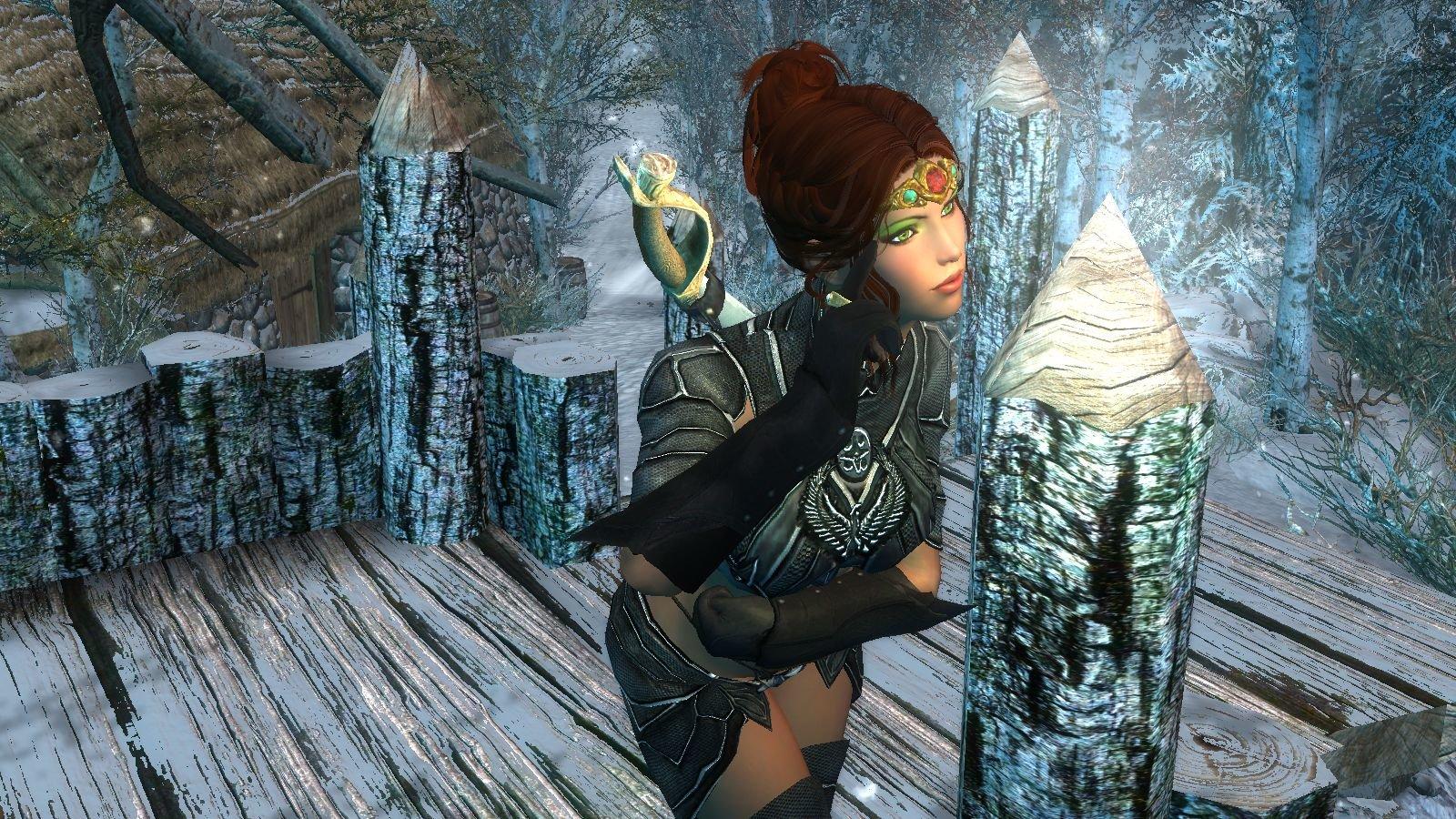 Шэйла.. Enderal Forgotten Stories (сборка 3.0)