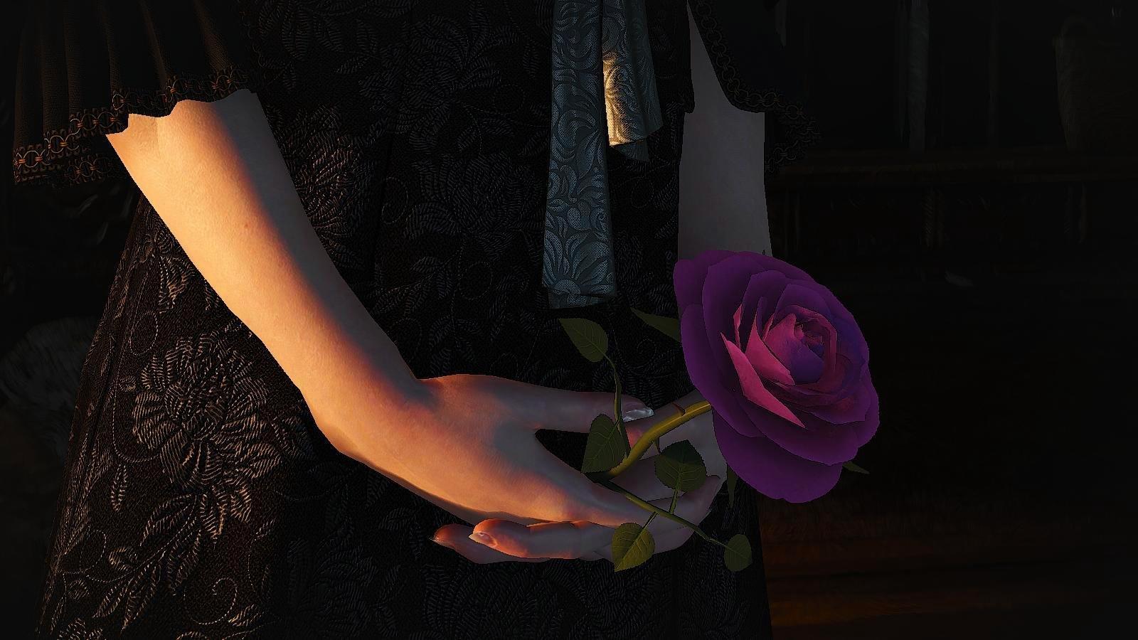 Роза - символ памяти и любви.. ВЕДЬМАК III (сборка Торна)