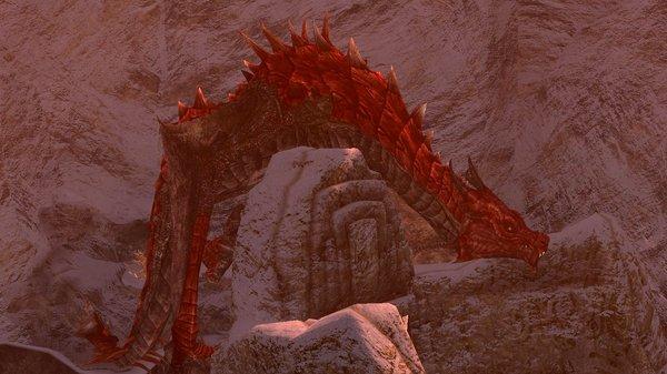 Огненный дракон.. SkyrimSE (сборка 6.0)