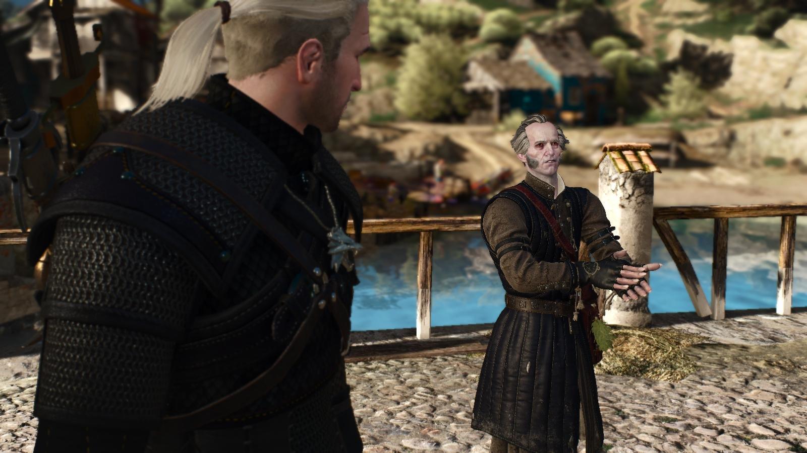 Регис и Геральт.. Ведьмак III (сборка Торна)