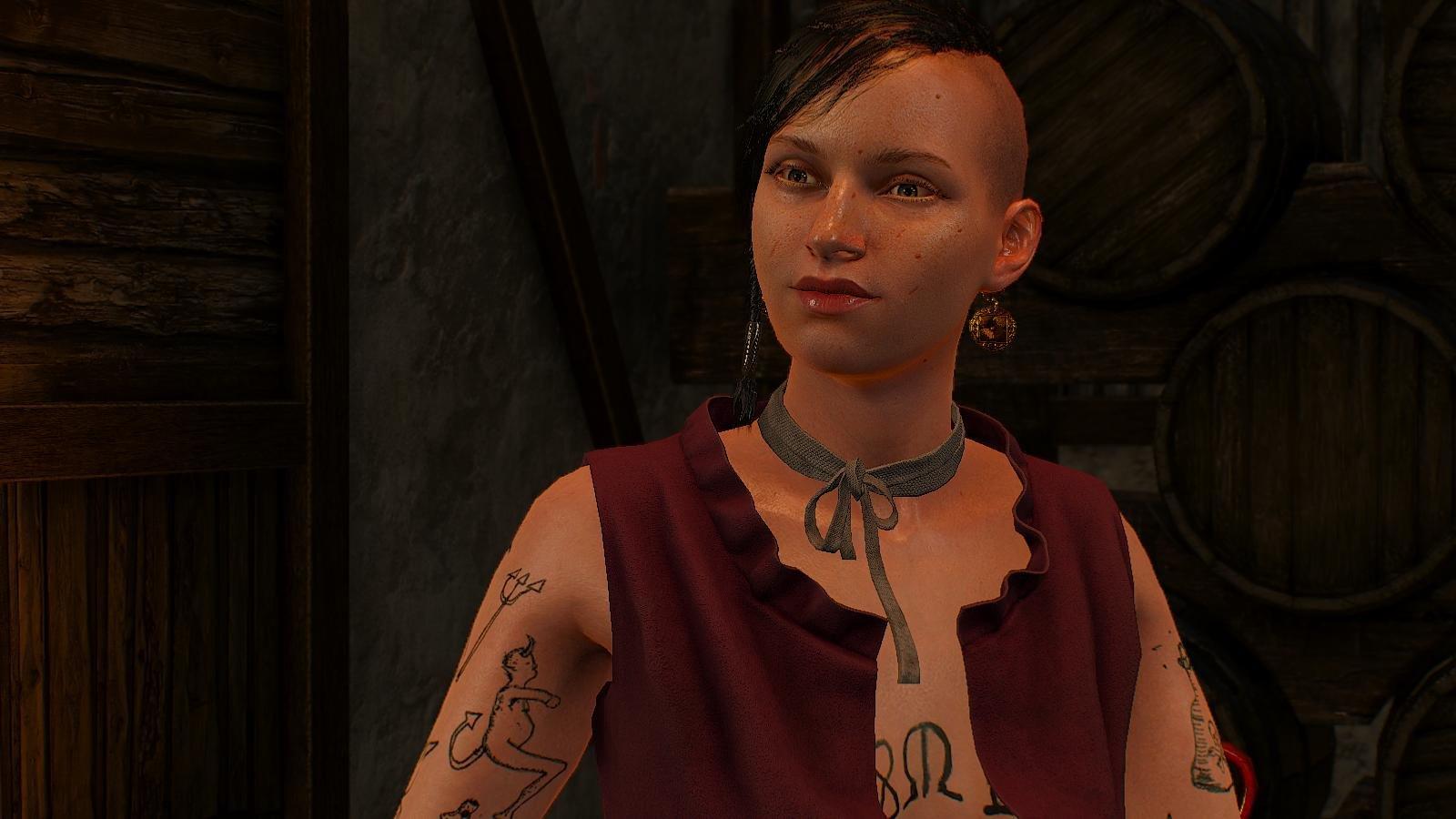 Девица из банды Ольгерта.. ВЕДЬМАК III (сборка Торна)