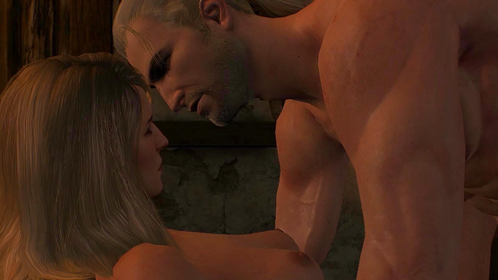 Геральт: Кейра, ты такая привлекательная женщина! ;)