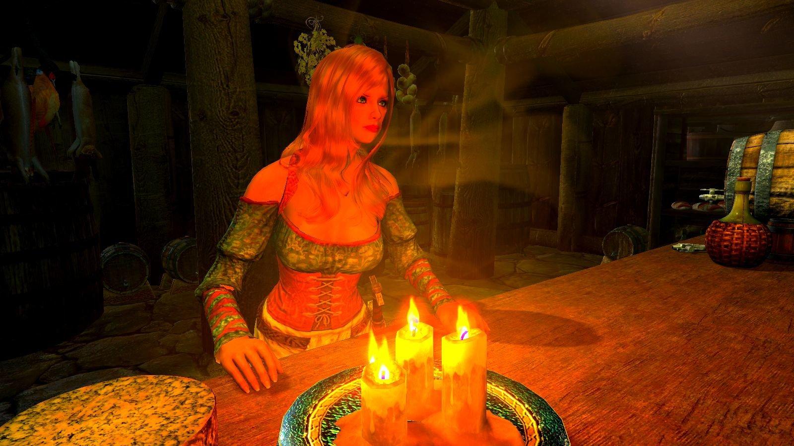 Девица в таверне.. SkyrimSE (сборка 6.0)