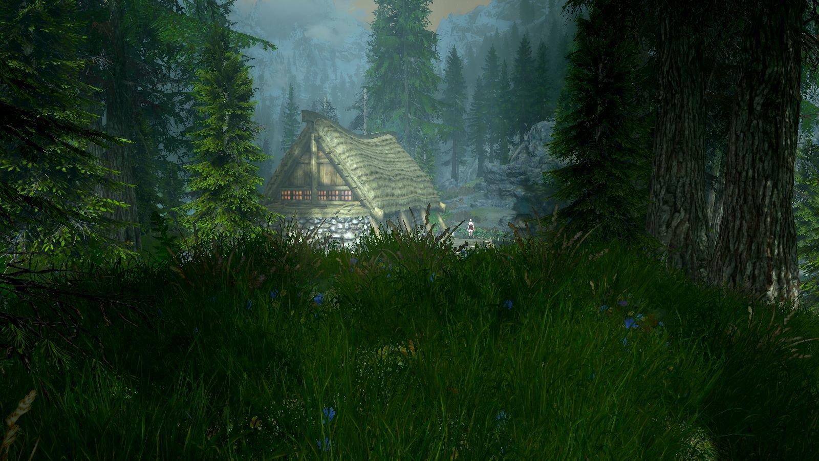 Домик в лесу.. SkyrimSE (сборка 6.0)