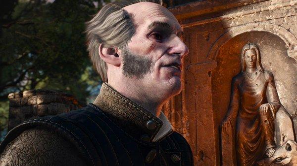 Регис, давний друг Геральта.. Ведьмак III (сборка Торна)