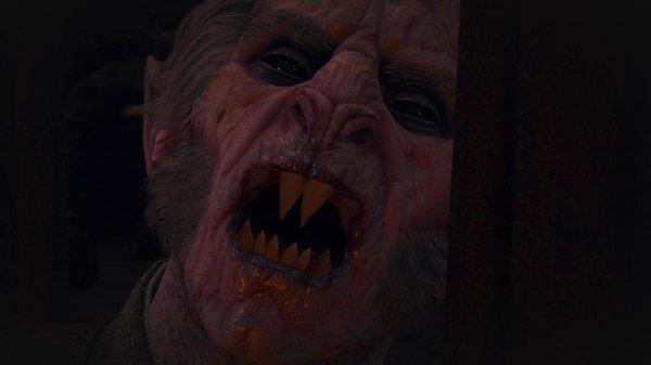 Злой и голодный старший вампир..