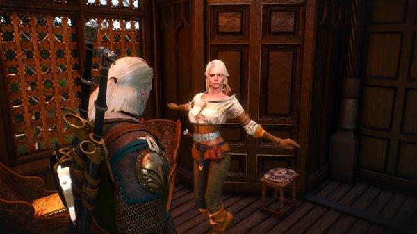 witcher3 Все ее ищут, а она в борделе околачивается...