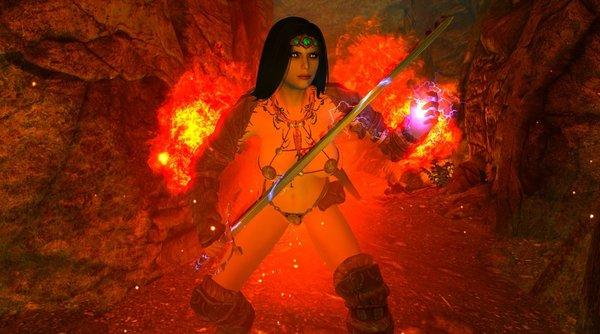 Огненная НОРА в SkyrimLE (сборка 4.0)