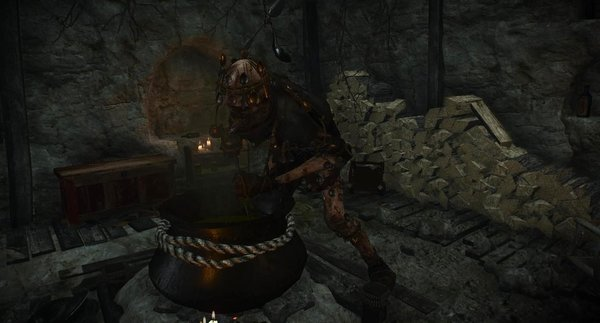 Хозяйка ждёт гостей к ужину. Ведьмак III (сборка Торна)