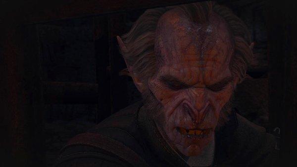 Звереющий Регис ;) Ведьмак III (сборка Торна)