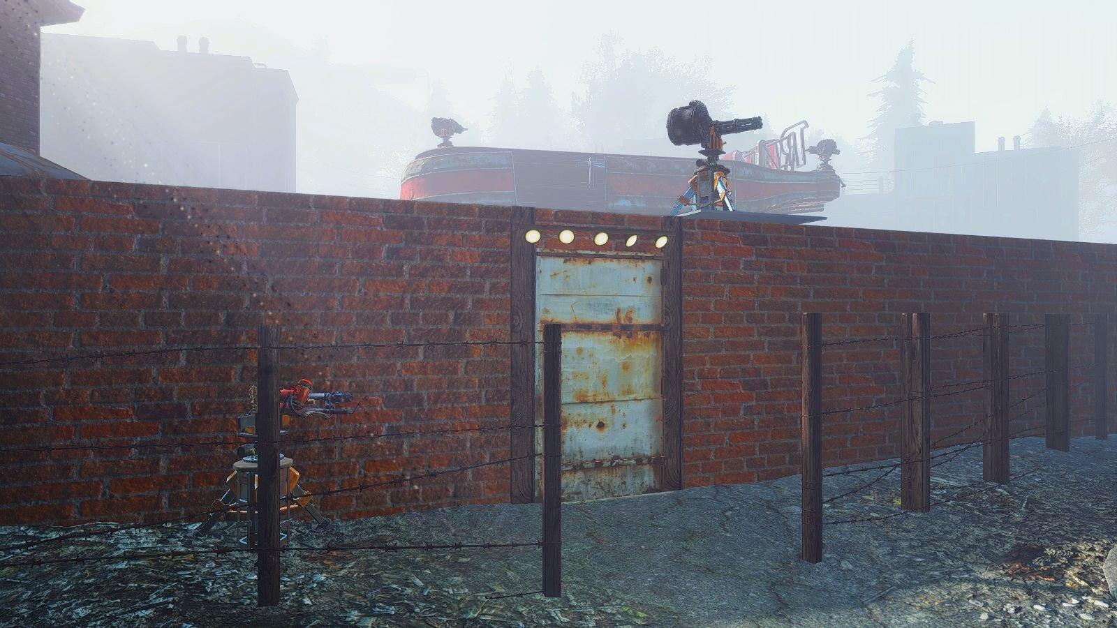 Вход в новое поселение в Fallout-4 (Сборка 6.4)