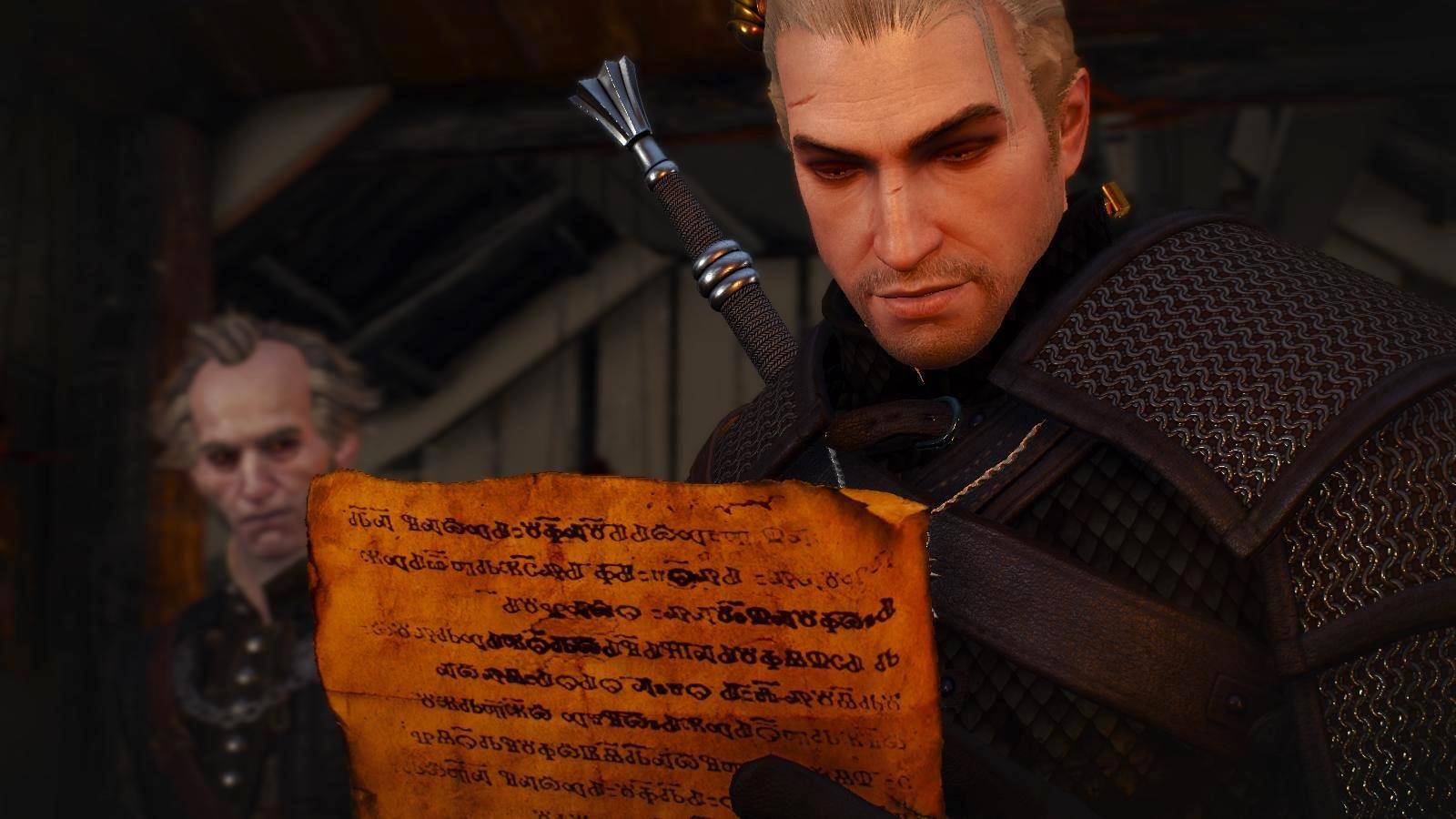 Смотри ка - письмо! Ведьмак III (сборка Торна)