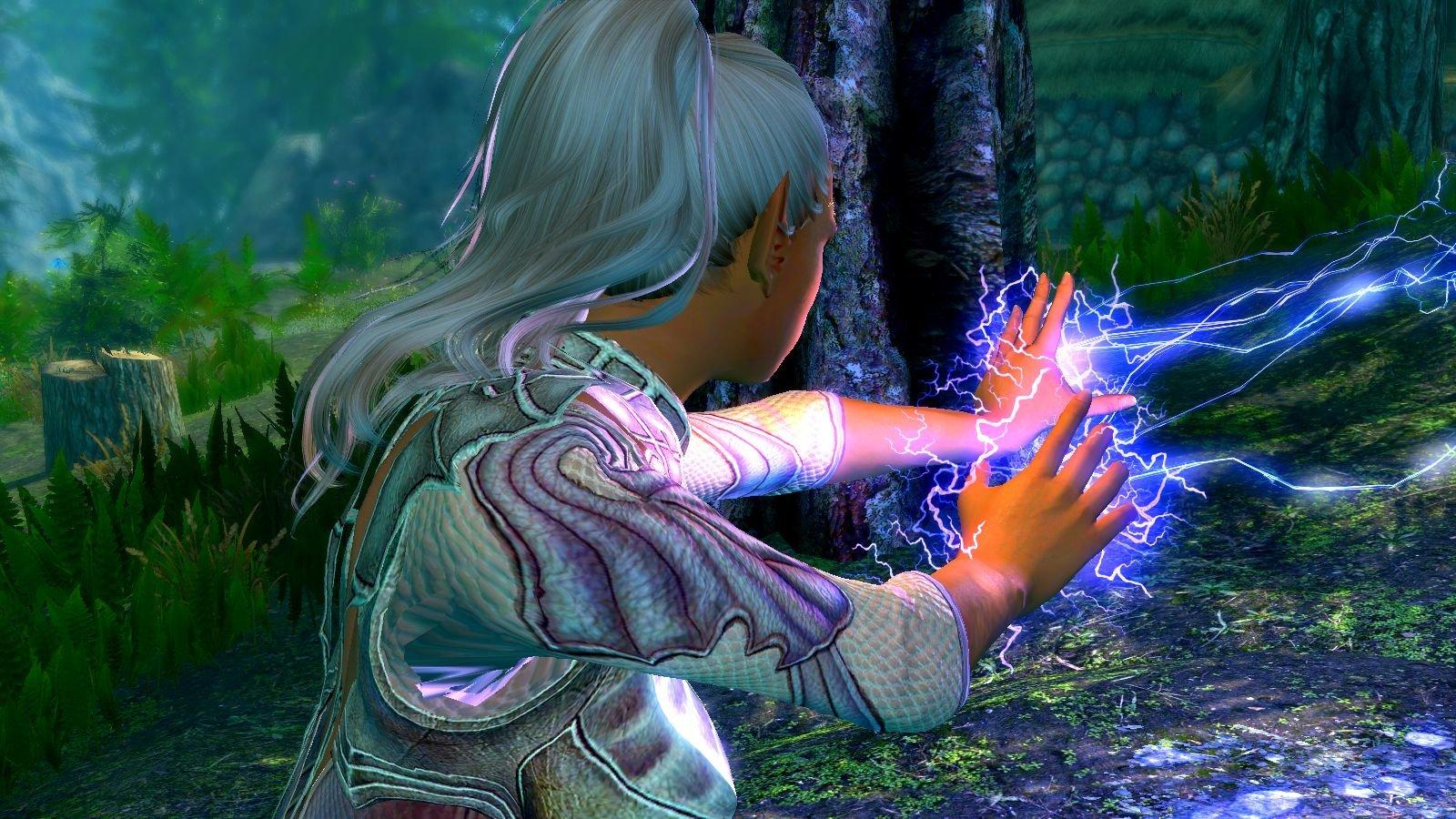 Магия молний.. SkyrimSE (сборка 6.0 ЛЕТО)