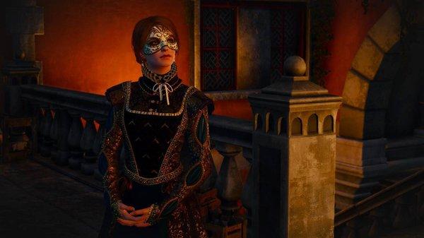 Анна Генриетта: почему я в маске.. Ведьмак III (сборка Торна)