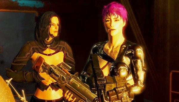 Ева с Иден.. Fallout-4 (Сборка 6.4)