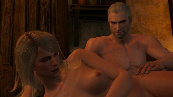 Геральт: Может массаж, Кейра? Ведьмак III (сборка Торна)