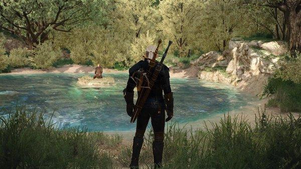 Место Владычицы озера.. Ведьмак III (сборка Торна)